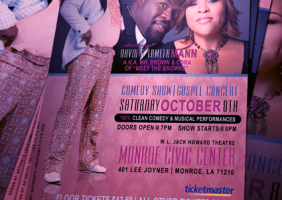 Mr. Brown Comedy Show / Gospel Concert