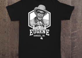 EUGENE SINEGAL MEMORIAL SHIRT